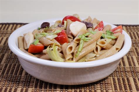 cold pasta dish cold vegetarian pasta salad