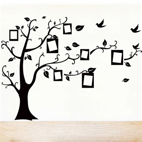 black tree wall sticker aliexpress buy 1 set 35 45 inch removable pvc decals