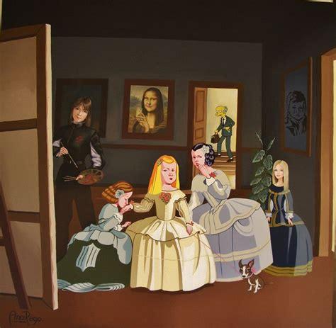 el cuadro de las meninas las meninas ana rego artelista