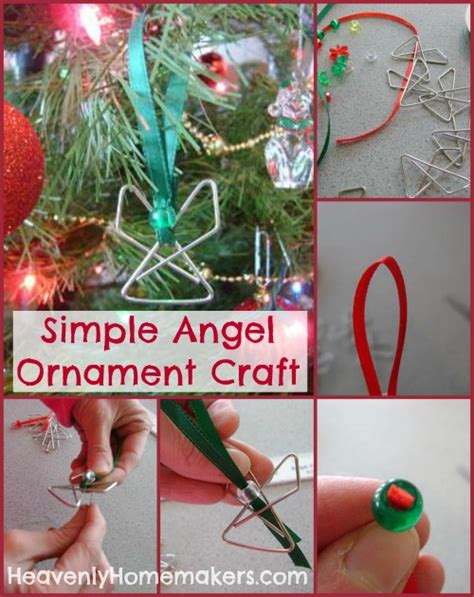 simple ornaments to make make a simple ornament heavenly