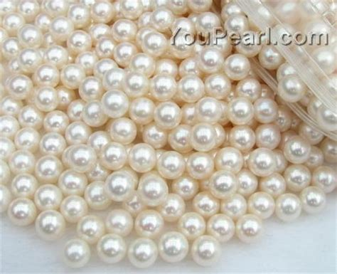 pearl in bulk 6 5 7mm white freshwater pearl bead wholesale aa