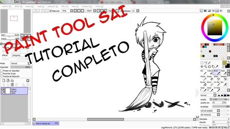 paint tool sai portugues completo paint tool sai tutorial completo