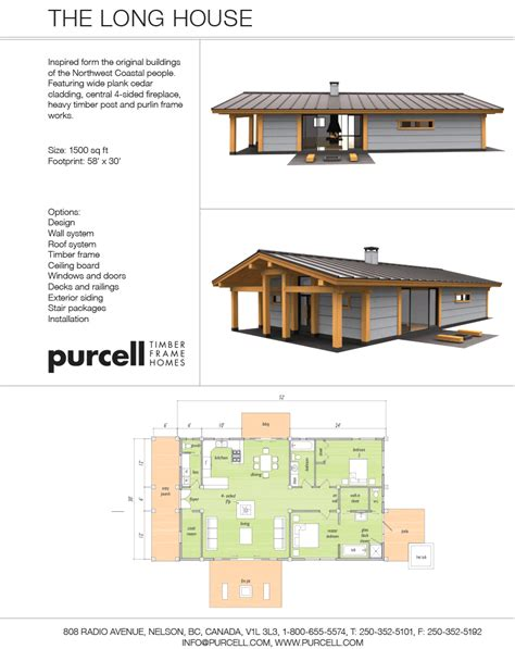 Carriage House Floor Plans purcell timber frames the precrafted home company the