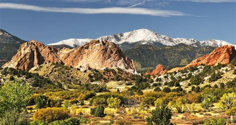 Garden Of The Gods Fall Aspen Leaf Imagery Winter Images Page