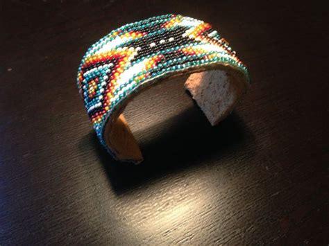 beaded american bracelets american beaded cuff bracelet