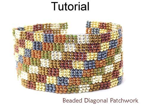 peyote bead bracelet patterns beading tutorial bracelet 3 drop peyote stitch simple