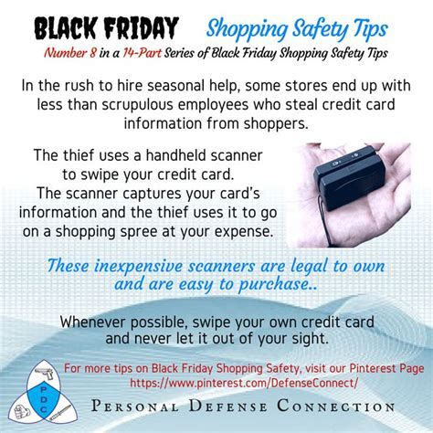 card tips 1000 images about safe while shopping on