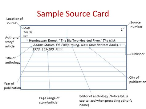 how to make source cards how to make source cards for a research paper 28 images