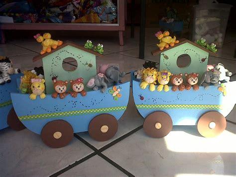 Centro De Mesa Para Baby Shower by Arca De No 233 Para Baby Shower Bautizo Centro De Mesa