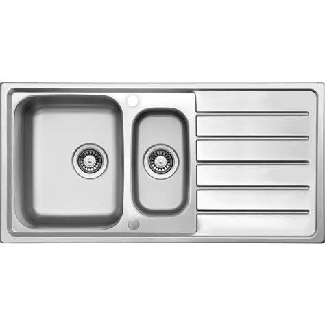 bowl kitchen sinks stainless steel 1 1 2 bowl kitchen sink drainer 1000 x