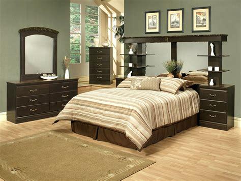 wall unit bedroom furniture sets 4 espresso finish wall unit bedroom set