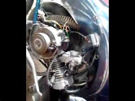 Modifikasi Vespa Tangerang by Vespa 4 Tak Four Stroke Blok Silinder Honda Blade