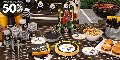 steelers decorations nfl pittsburgh steelers supplies city