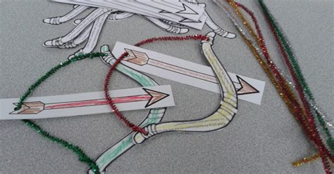 bow and arrow craft for the confident journal sunday school craft david and