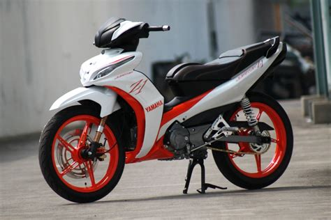 Modification Jupiter Z 2012 by Jupiter Z1 Racing Look Modification Me And Automotive