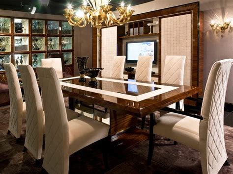 Luxury Dining Room Chairs luxury modern dining table design ideas 4 home ideas