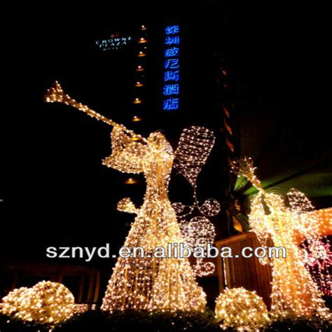lighted outdoor decorations light 3d led lighted outdoor
