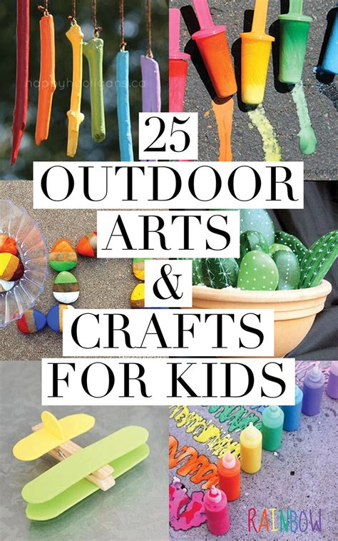 free arts and crafts for 25 outdoor arts and crafts for