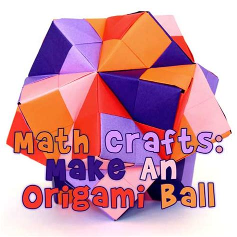 math origami projects math crafts make an origami woo jr activities