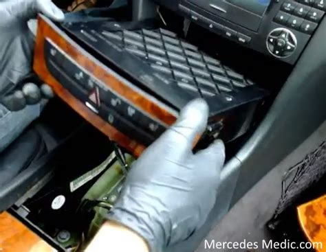 panel cls woodwork general how to remove comand stereo radio unit mercedes e320