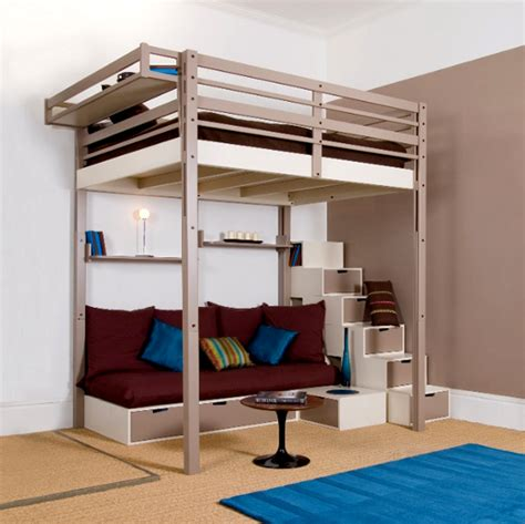 loft bed for plans for loft bed with stairs woodworking projects