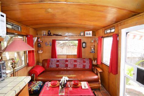 Remodeled Campers travel trailer is a 1954 prairie schooner camper