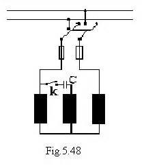 Condensator Motor Monofazat by Pornirea Motorului Asincron Monofazat Electricianul
