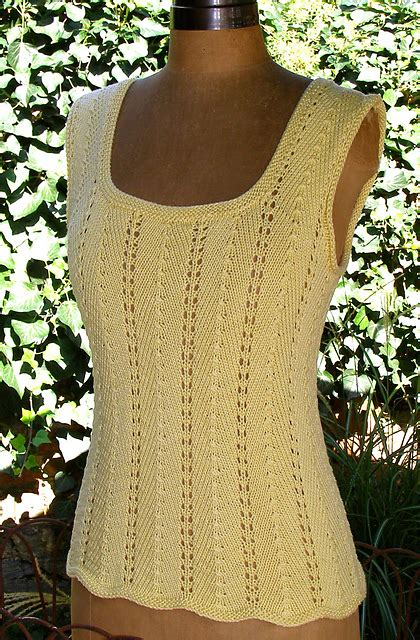 free knitting patterns for summer tops sleeveless tops knitting patterns in the loop knitting
