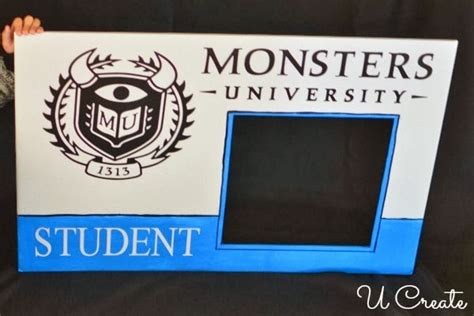 make a student id card monsters student id card photo prop u create