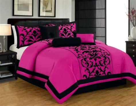 pink and black comforter set pink and black print comforter bedding sets for