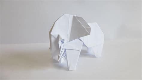 white elephant origami easy origami elephant 折り紙 折り方 ゾウ doovi