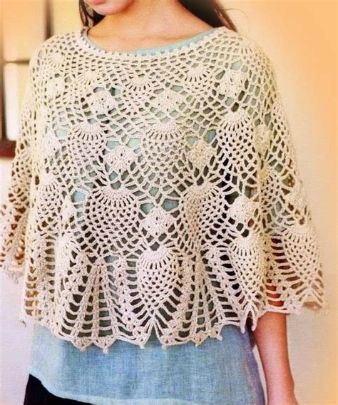 poncho pattern crochet shawls