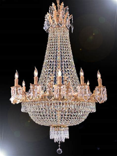 the gallery chandelier f93 1284 8 4 gallery empire style empire chandelier