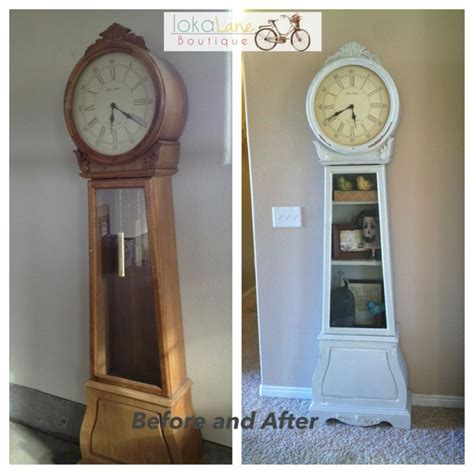 chalk paint grandfather clock 13 best images about grandfather clock on