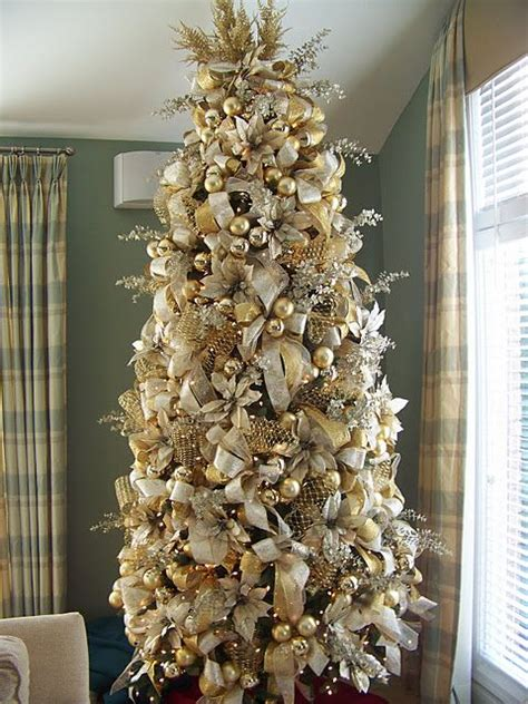 gold and white tree 44 refined gold and white d 233 cor ideas digsdigs