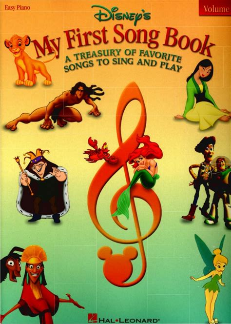 my picture book of songs my song book vol2 disney