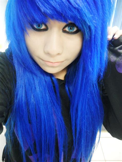 blue hair my blue hair c imuri miyuki by msimuri on deviantart