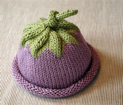 free knit baby hat patterns knitting patterns galore berry baby hat