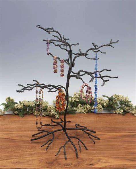 wrought iron trees ornament tree wrought iron squiggly small set of 2