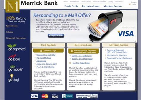 make payment merrick bank credit card www doubleyourline try merrick bank your line