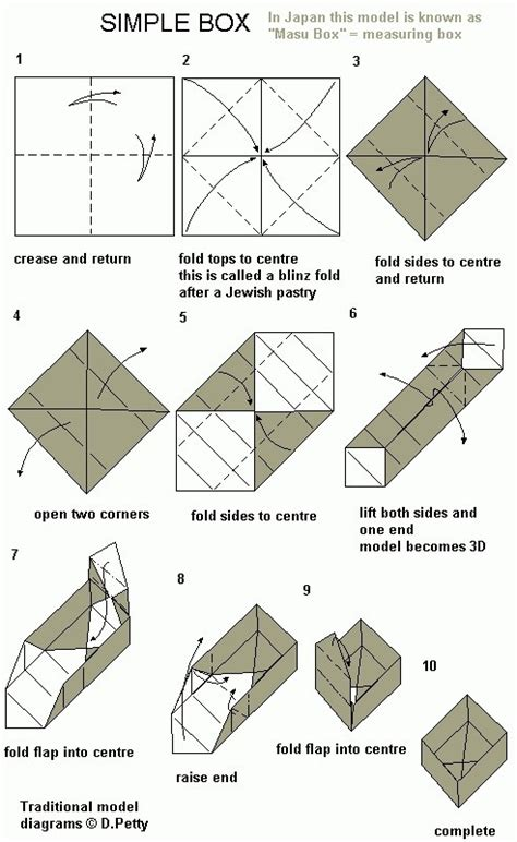 how to make origami containers the world s catalog of ideas