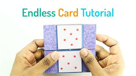 how to make a endless card how to make an endless card my crafts and diy projects