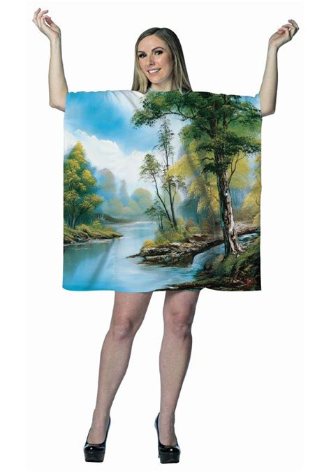 bob ross paintings costume bob ross painting dress