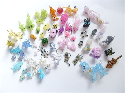 beaded 3d animals beaded animals by vonborowsky on deviantart