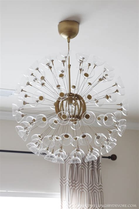 chandeliers at ikea remodelaholic 25 gorgeous diy chandeliers