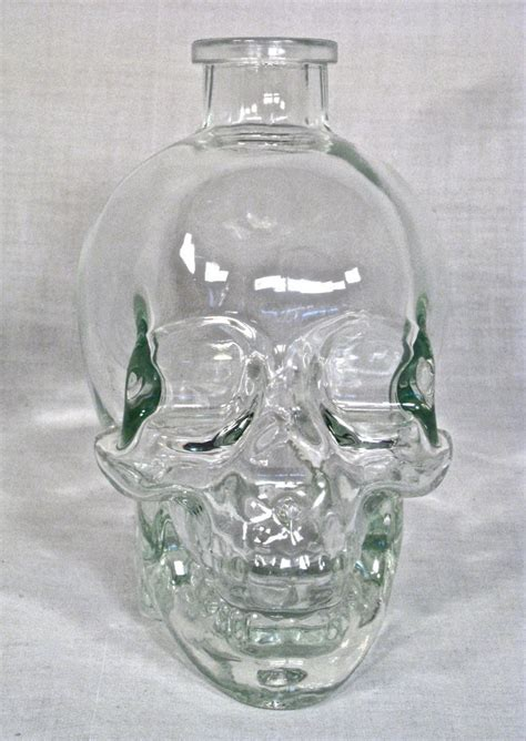 cool glass cool glass skull bottle other