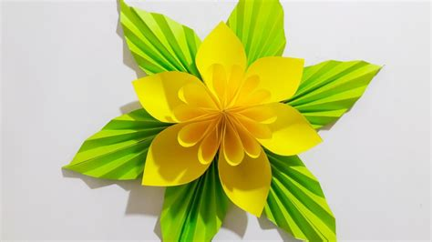 paper craft flower ideas origami flower easy paper flower 2017 easy step paper