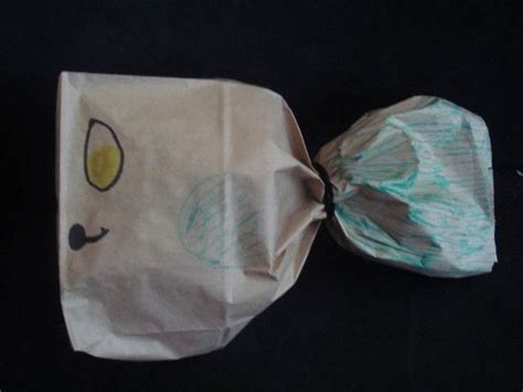 paper bag whale craft whale paper bag children s ministry