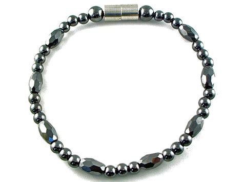 how to make magnetic jewelry hematite magnetic therapy bracelet trey marquise