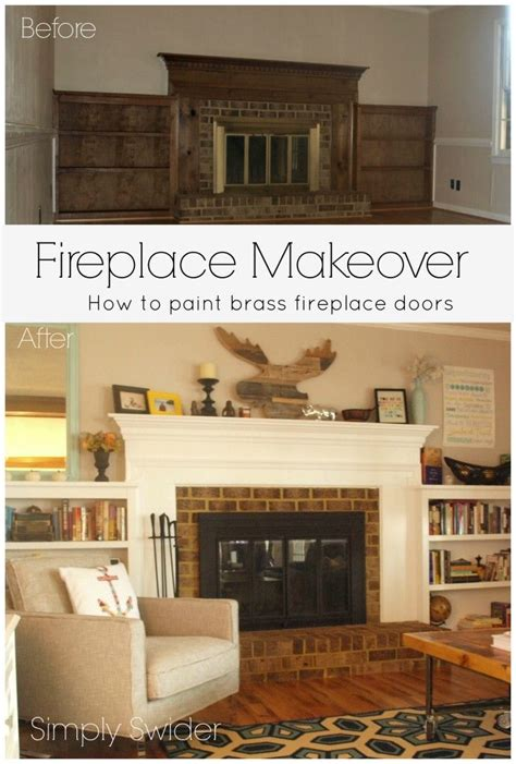 easy fireplace makeover fireplace makeovers picmia